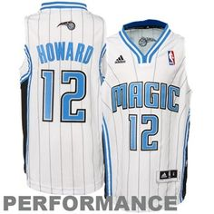 adidas Dwight Howard Orlando Magic Youth Revolution 30 Swingman Performance Jersey - White - SALE $44.99