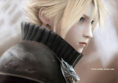 FF7-Cloud Strife 克劳德·斯特莱夫 PS:Reorganized the chart which the preceding period of time draws. 整理了前段时&#...