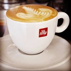 Giggi Gelateria only uses illy cofffee beans to create our lovely lattes, cappuccini  and macchiati at 10 Burlington Arcade, BH1 2HZ
