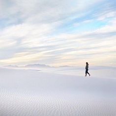 If you ever find yourself in Southern New Mexico, you have to stop by White Sands National Monument / via Upahead