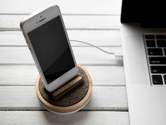 Spool Dock: The Modern Apple Dock with a Twist by Jeremy Saxton + Quell&Co. — Kickstarter
