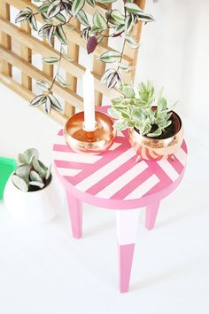 DIY Simple Stool Makeover