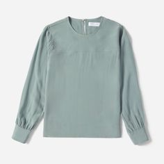 Another one in the running for my SS2018 French 5  Women's Silk Long-Sleeve Blouse | Everlane