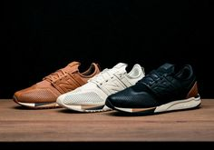 New Balance enters 2017 by proudly announcing a brand-new lifestyle sneaker, the 247. Designed with the perfect blend of modern style and the quality craftsmanship and heritage that New Balance is known for, the 247 takes inspiration from the past … Continue reading →