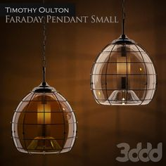 Timothy Oulton Faraday Pendant Small