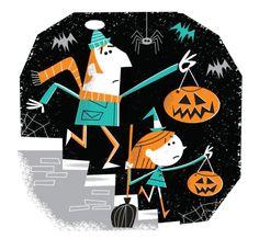halloween illustration on Behance