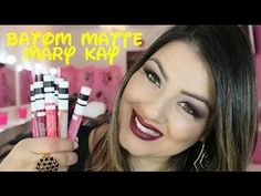 +05 Batons Líquido Matte da Mary Kay at Play- Sabrina Santos. - YouTube