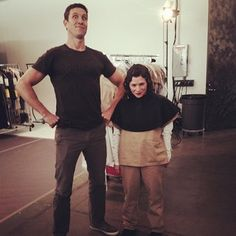 """Stash-less Pornstache and Hobbit wannabe Morello hanging out off set: 