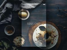 Recipe App Launch Screen Concept