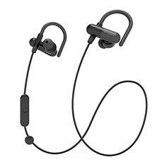 c649fa1bbd2 Bluetooth Headphones, TaoTronics Wireless In-Ear Sweatproof Sports Earbuds  (Secure Ear Hooks Design
