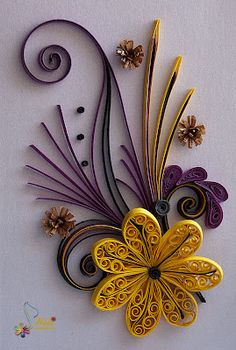 Neli is a talented quilling artist from Bulgaria. Her unique quilling cards bring joy to people around the world. Paper Quilling Cards, Paper Quilling Patterns, Neli Quilling, Quilled Paper Art, Quilling Paper Craft, Paper Cards, Paper Quilling For Beginners, Quilling Techniques, Origami