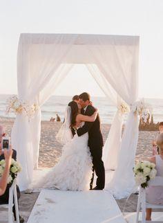 Malibu Wedding from Elizabeth Messina + Bluebell Events