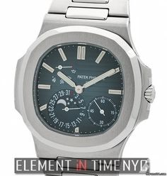 Patek Philippe Nautilus Stainless Steel Moonphase Power Reserve Reference #: 5712/1A