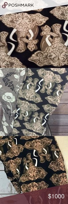 LuLaRoe OS Paisley Elephant Leggings! MAKE AN OFFER LuLaRoe OS (size 00-10) leggings with hard to find, incredibly rare PAISLEY ELEPHANTS on them! INCREDIBLY soft! NWT & Never Been Worn! Perfect for the all the animal lovers out there!! Be excited!!! These are gorgeous!!!  LuLaRoe Pants Leggings