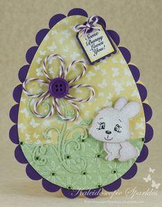 Kaleidoscopic Sparkles: Some Bunny Loves You!