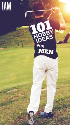 Check out our MASSIVE list of hobbies for men. Includes sporty hobbies, hobbies for couples, weird hobbies, and many more hobby ideas. hobbie 101 Best Hobbies For Men Of All Ages Best Hobbies For Men, Hobbies For Adults, Hobbies To Take Up, Hobbies For Couples, Cheap Hobbies, Hobbies That Make Money, Fun Hobbies, Hobbies Creative, Popular Hobbies