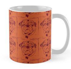 A pug mug! find it here...http://www.redbubble.com/people/hollyddesigns/works/21314867-block-print-pug?p=mug