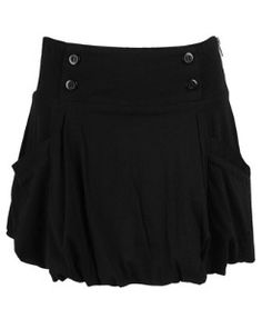 bubble skirt with pockets