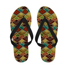 raffia flip flops