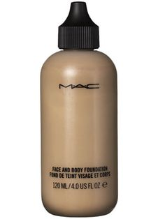 M.A.C. Face and Body Foundation is good for covering up pesky bathing suit tanlines