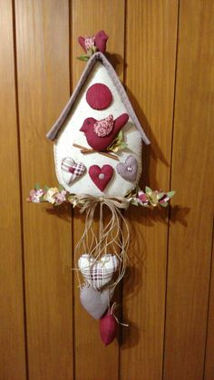 Christmas Sewing, Felt Christmas, Christmas Crafts, Crafts To Sell, Diy And Crafts, Arts And Crafts, Felt Crafts, Fabric Crafts, Decor Crafts