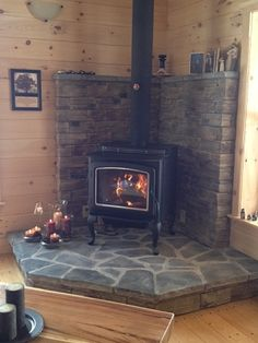 wood stoves flagstone | Wood Stove Hearth