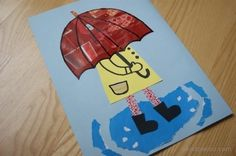 Spacer w deszczu Walk in the rain