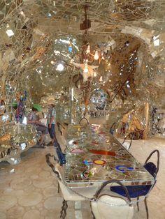 Dining room, il giardino dei Tarocchi (The Garden of Tarot) Grosseto, Tuscany, Italy