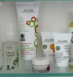 We love the Acure skincare line. Free from animal testing, parabens, sulfates, phthalates, synthetic fragrances, harmful preservatives and artificial colors. http://mightyne.st/newAcure