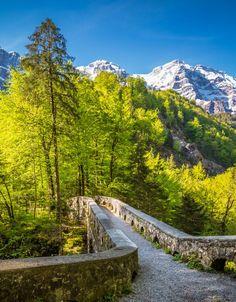 Löntschtobel, Switzerland