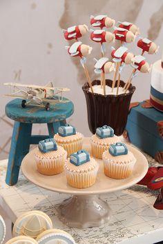 BABY SHOWER~ AIRPLANE CAKE POPS