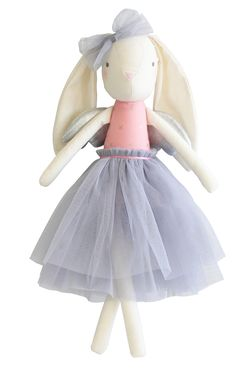 Alimrose Angel Bunny 50cm Silver   Alimrose Designs www.missnmaster.com