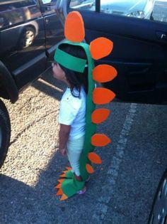 Disfraces fáciles de hacer de dinosaurios