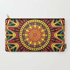 Buy Mandala orange Carry-All Pouch by Angel Decuir. Worldwide shipping available at Society6.com. Just one of millions of high quality products available.