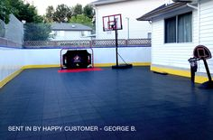 Outdoor Sports Tiles - Perfect outdoor court flooring for: basketball, tennis, volleyball, badminton and much more.