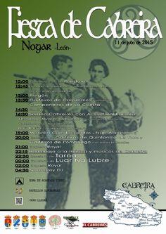 Este sábado 11 en Nogar, fiesta de Cabreira 2015