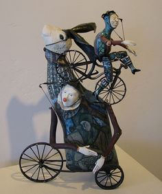 John and Robin Gumaelius A clown, A rabbit, and a Bicycle