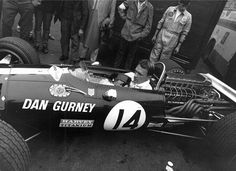 Dan Gurney at the 1968 German Grand Prix...... just....fantastic!