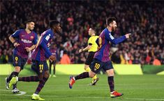 Dembele and Messi scored. FC Barcelona got 4 consecutive wins and is  placing the 1st 3d054779739f7