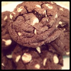 Barefoot Contessa chocolate white chocolate chip cookies.  Delish.