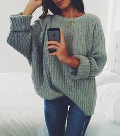 Discount This Month Simenual sweaters fashion 2018 women clothing loose casual solid pullovers knitwear autumn winter sweater ladies jumper 7 colors Fall Winter Outfits, Autumn Winter Fashion, Spring Outfits, Cheap Fall Outfits, Simple Fall Outfits, Classy Winter Fashion, Casual Autumn Outfits Women, October Outfits, Fall Winter Shoes
