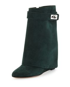 Price search results for Dark Green Suede Twist Buckle Detail High Boots Wedge Boots, High Boots, Tall Boots, Suede Leather, Leather Boots, Real Leather, Fold Over Boots, Armelle, Green Boots