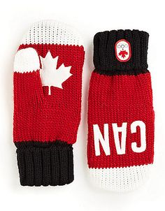 Snow Top Red Mittens | Hudson's Bay