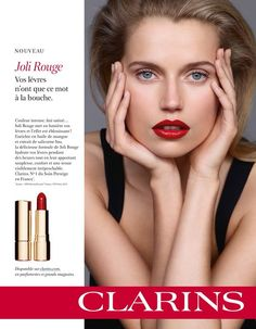 Clarins Paris Skincare Advertising