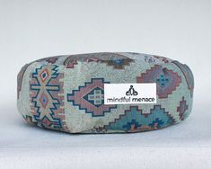 Sustainably and ethically handmade in Ireland by the Mindful Menace using deadstock upholstery fabrics and organic buckwheat hulls. These durable cushions are made to last. Free shipping Worldwide Meditation Cushion, Meditation Space, Indie Room, Boho Room, Sustainable Fabrics, Silk Pillow, Upholstery Fabrics, Buckwheat, Good Night Sleep