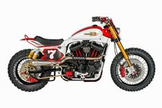 Harley XLZT3 Scrambler by Shaw Speed & Custom