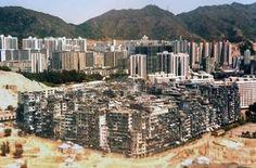 Kowloon, la ciudad oscura, amurallada y fuera de la ley