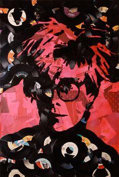 Andy Warhol vinyl art