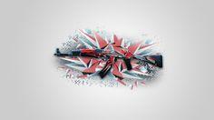 CSGO AK 47 Point Disarray Wallpaper 1080p