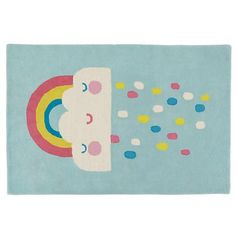 Rain and Shine Kids Area Rug | The Land of Nod